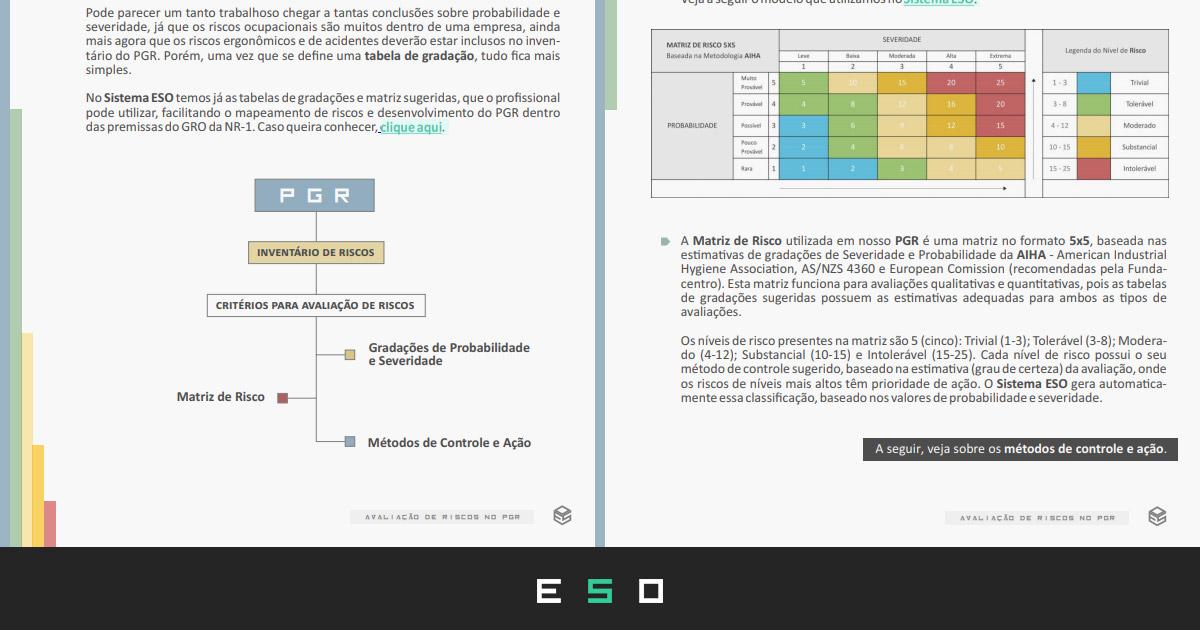 Baixar Gratuitamente - eBook SST: Avaliação de Riscos no PGR