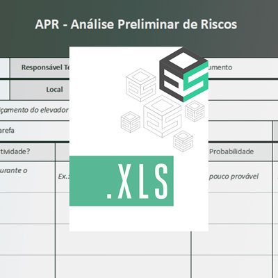 Baixar Modelo de APR - Análise Preliminar de Riscos em Planilha