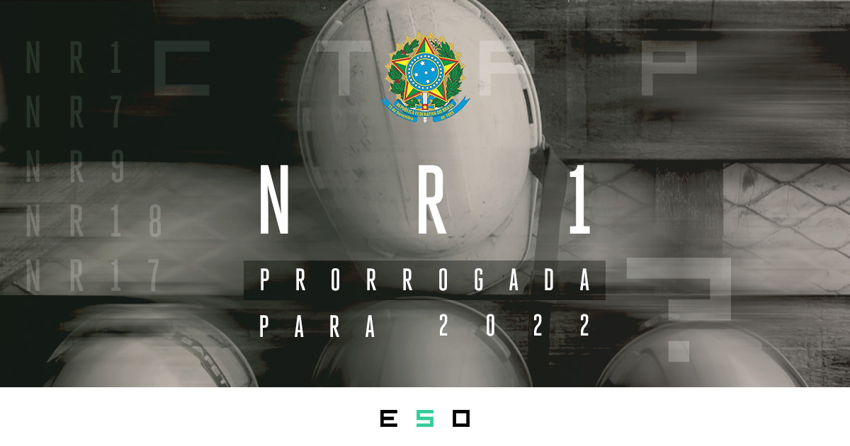 PGR Prorrogado: Vigência da Nova NR-1 adiada para 2022